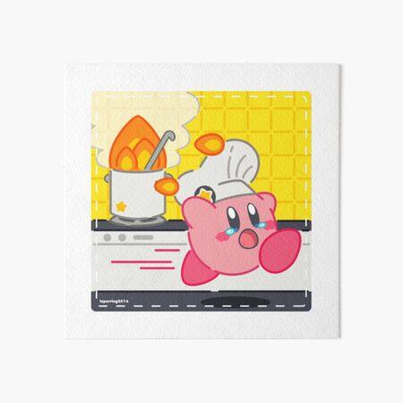 Kirby cafe Art Board Print