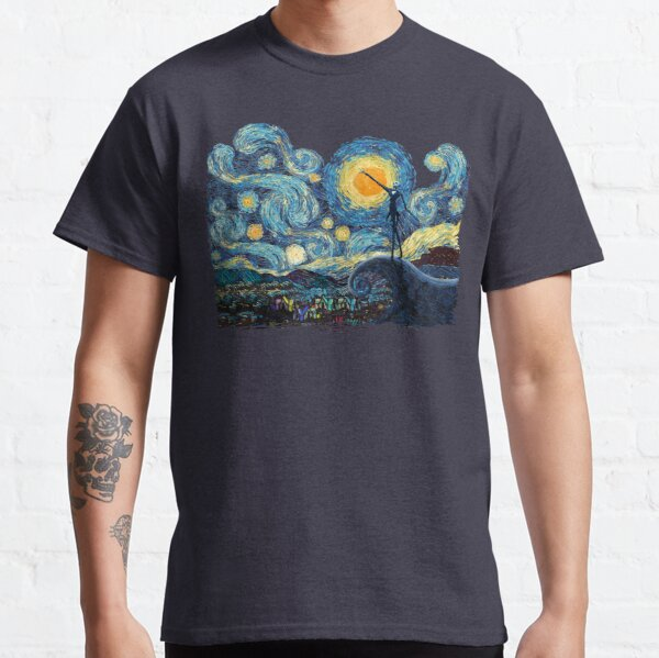 Jack Scary night abstract paintings Classic T-Shirt
