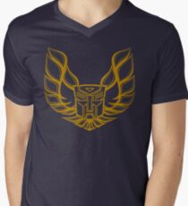 Hot Rod AutoBot Men's V-Neck T-Shirt