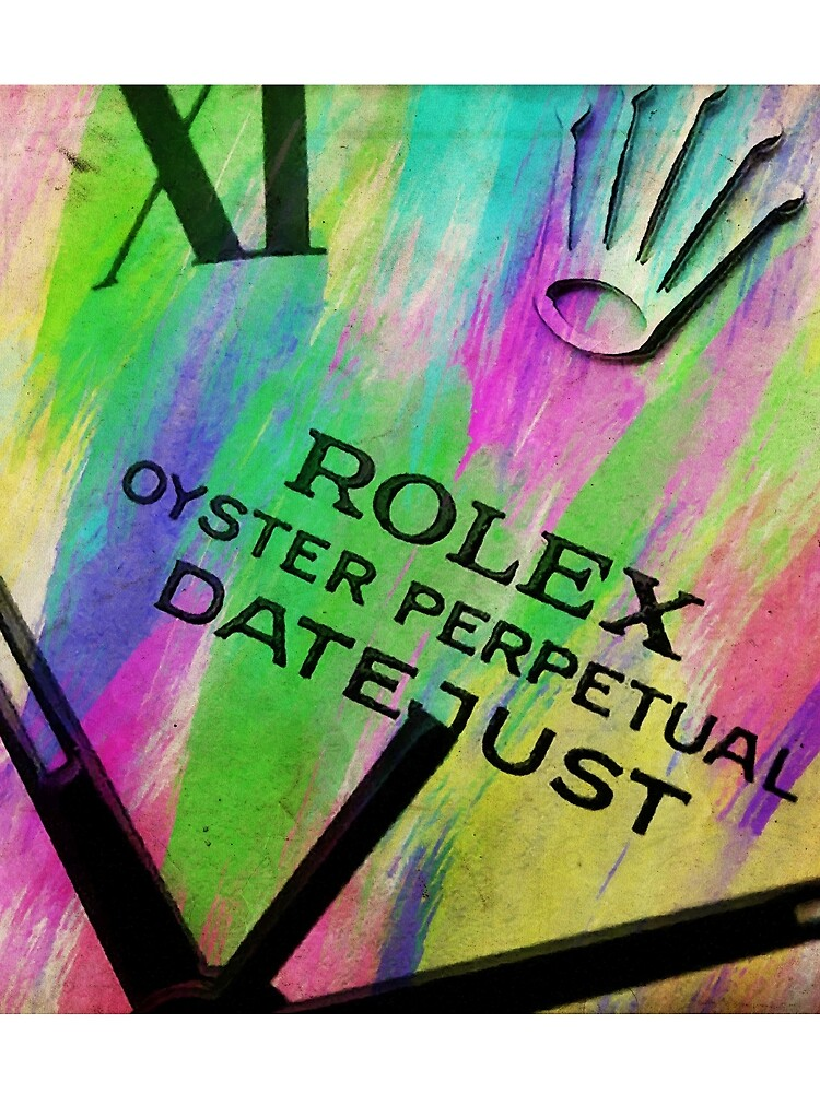 Rolex Aquarell von RickyBarnard