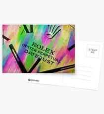 Rolex Watercolor Postcards
