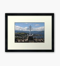 The Free French Memorial Framed Print
