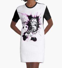Lil Pump Slashing Graphic T-Shirt Dress