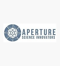 Aperture Science Logo Photographic Print