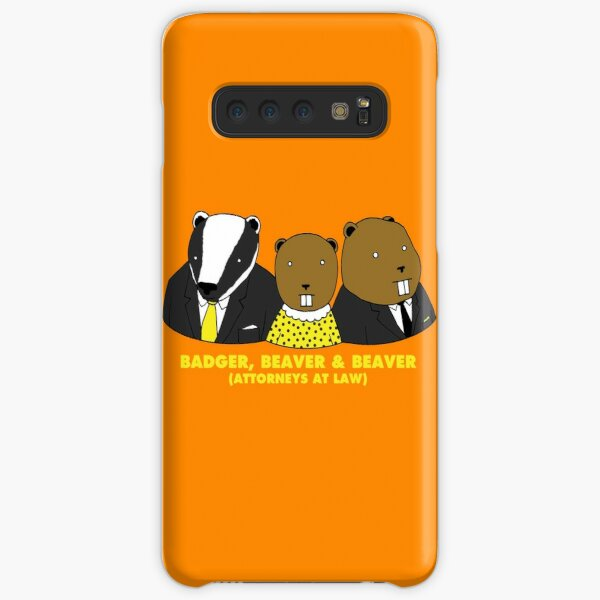 Badger, Beaver and Beaver Samsung Galaxy Snap Case