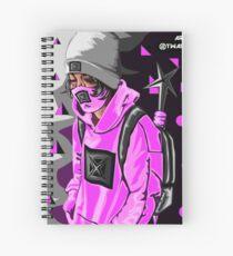 Lil Xan (betrayed) Merch  Spiral Notebook