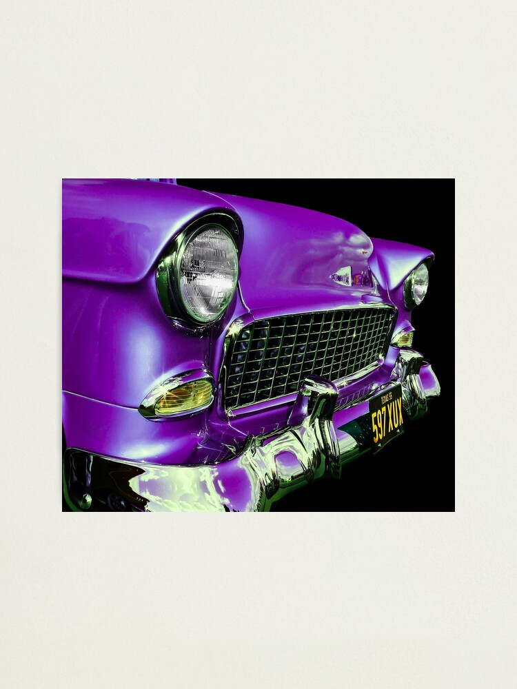 Alternate view of American Icon 1955 Chevy Photographic Print