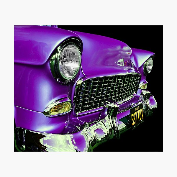American Icon 1955 Chevy Photographic Print
