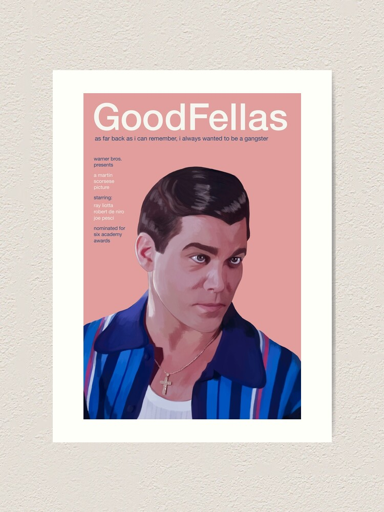 Goodfellas Movie Poster Print Wall Art Present Frame Gift