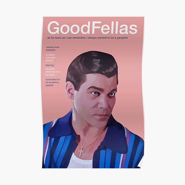 Goodfellas Movie Poster Poster