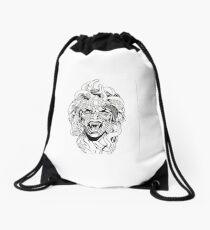 Snake Queen Drawstring Bag