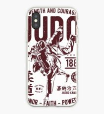 STRENGHT AND COURAGE JUDO 1882 HONOR -FAITH - POWER  T-SHIRT  iPhone Case