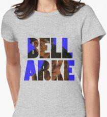 Bellarke (Blue) Women's Fitted T-Shirt