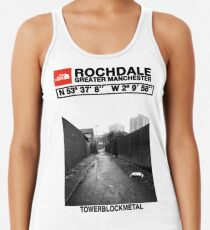 The Real North - Rochdale Racerback Tank Top