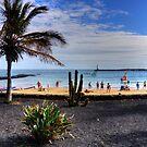 Las Cucharas Beach by Tom Gomez