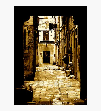 THE OTHER SIDE OF LIFE (UNDERSTANDING) Photographic Print