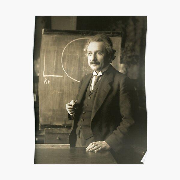 Albert Einstein Scientist  Poster