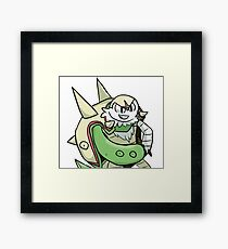 Chesnaught Thumbs-Up! Pokemon Parody Framed Print