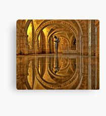 Cathedral Crypt - Winchester Canvas Print