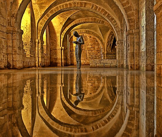 Cathedral Crypt - Winchester by NeilAlderney