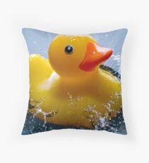 Bath Time! Throw Pillow