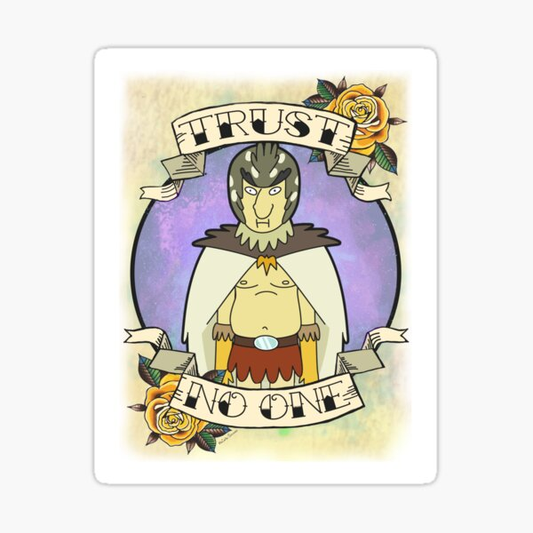 Bird Person - Trust No One Sticker