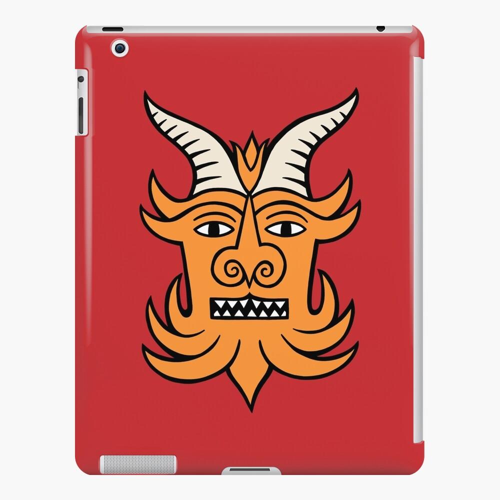 The devil says hello iPad Case & Skin