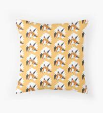 Lycanroc - Dusk Form Throw Pillow