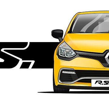 Renault Clio Sport IV // Front by PixelRandom