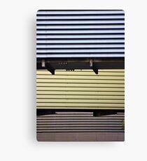 Corrugated Canvas Print