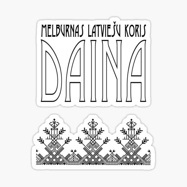 Daina | Deco white | 30th anniversay Sticker