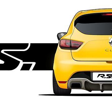 Renault Clio Sport IV // Rear by PixelRandom