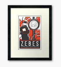 Zebes Applied Sciences Framed Print