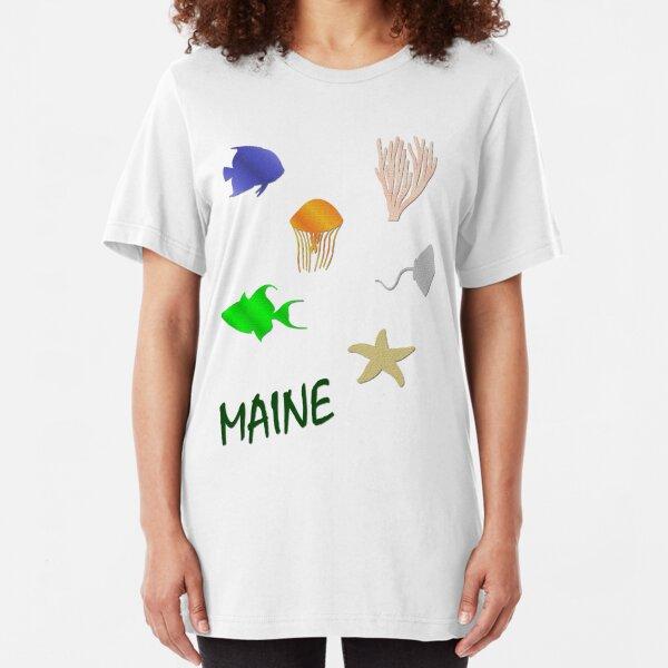 Maine Slim Fit T-Shirt