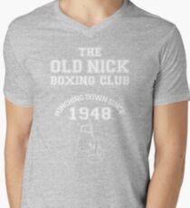 Punching Down Men's V-Neck T-Shirt