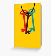 Ring of Keys Greeting Card