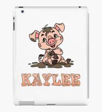 Kaylee Piggy iPad Case/Skin