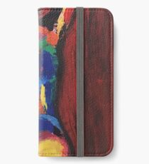 Abstract figurative art iPhone Wallet/Case/Skin