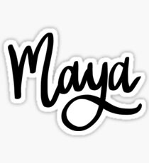 Maya Sticker