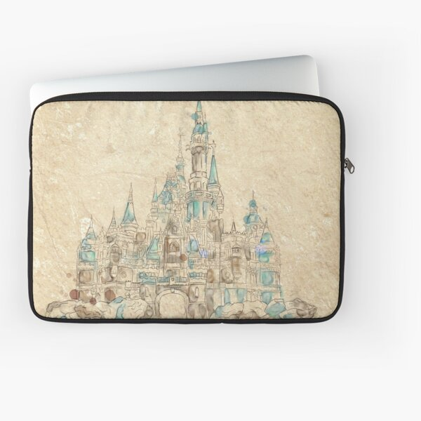Enchanted Storybook Castle Laptop Sleeve