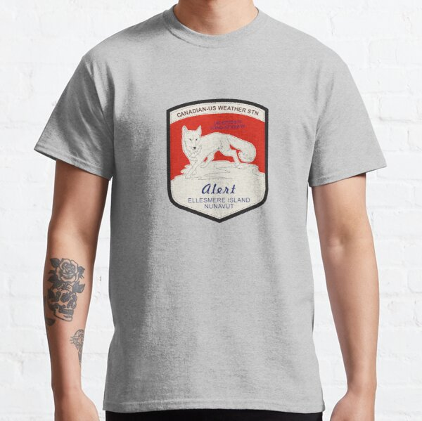 Alert Weather Station Classic T-Shirt