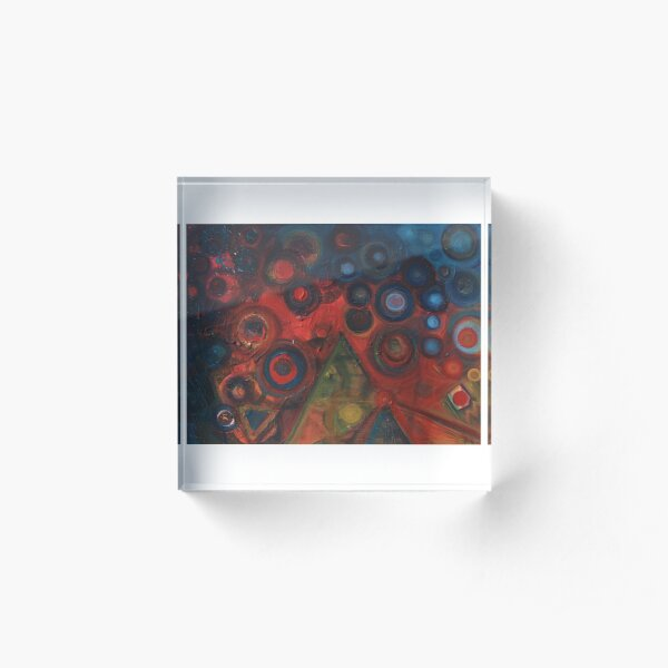 Primary Abstract Acrylic Block