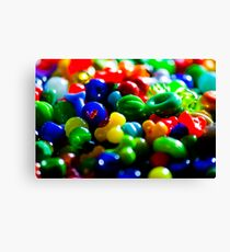 Bright shiny beads Canvas Print