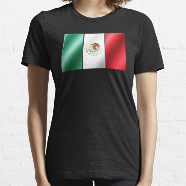 Mexican American Distressed Eagle Snake Mexican Flag T-shirt