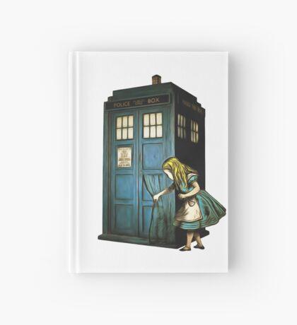 A través de la caja de la policía - Alicia en el país de las maravillas Cuaderno de tapa dura