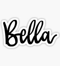 Bella Sticker