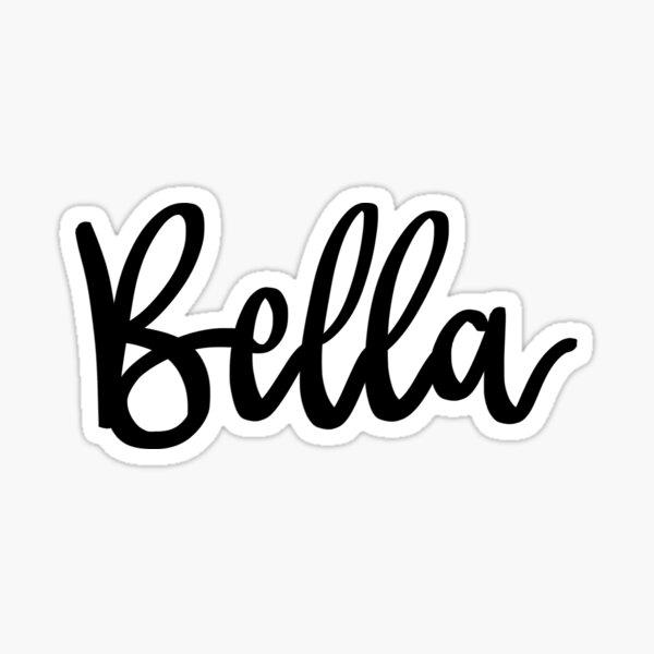 Bella Sticker