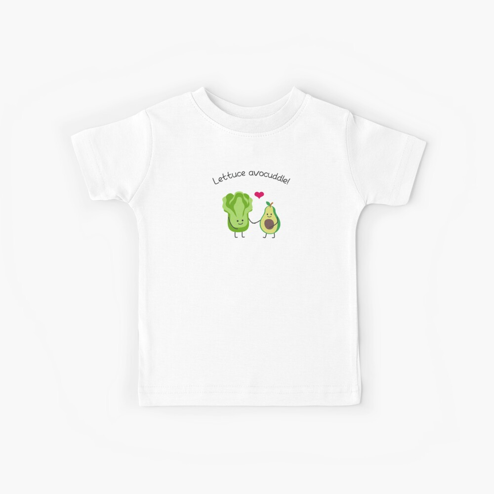 Avocado-Liebhaber - Salat Avocuddle Kinder T-Shirt
