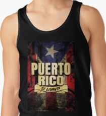 Puerto Rico Se Levanta / Puerto Rico Will Rise - Shirt Stickers Wall Art Posters Prints and more! Tank Top