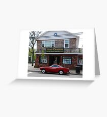 Back to the '60s - 1966 Volvo P1800S > Greeting Card